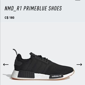 Worn once! Adidas running shoes NMD_R1 PRIMEBLUE SHOES